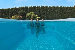 baseny ogrodowe poliestrowe Clara