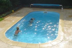baseny ogrodowe poliestrowe Sandra