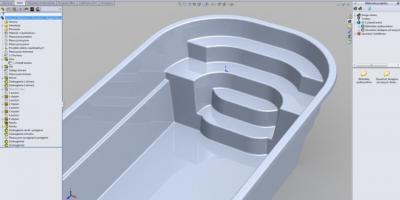 Komputerowe wspomaganie projektowania basenów CAD